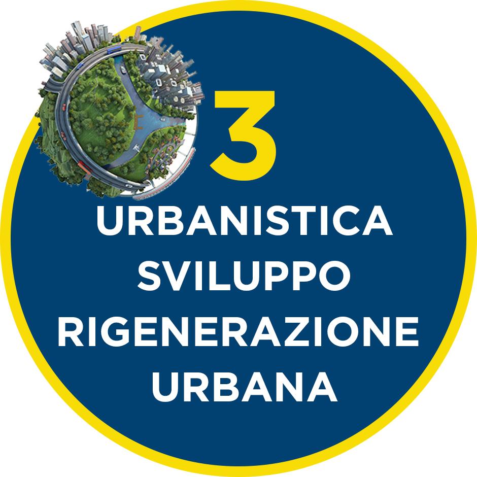 3. Urbanistica, Sviluppo e Rigenerazione Urbana - il programma per il Municipio VI di QUINTILLI - DEL GUERRA