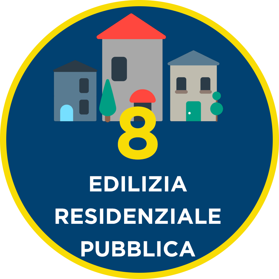 8. Edilizia Residenziale Pubblica – il programma per il Municipio VI di QUINTILLI – DEL GUERRA